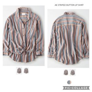 American Eagle Button Up Shirt NWT Sz XL